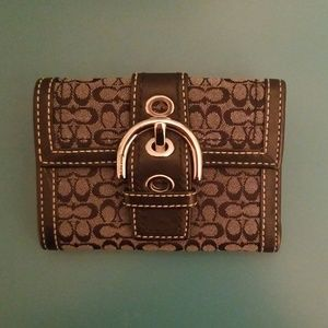 Coach bi-fold Wallet (small size)